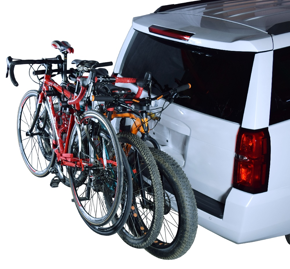 "Malone Auto Racks >> Hanger™ HM4 - Hitch Mount 4 Bike Carrier (1.25"" & 2"")"