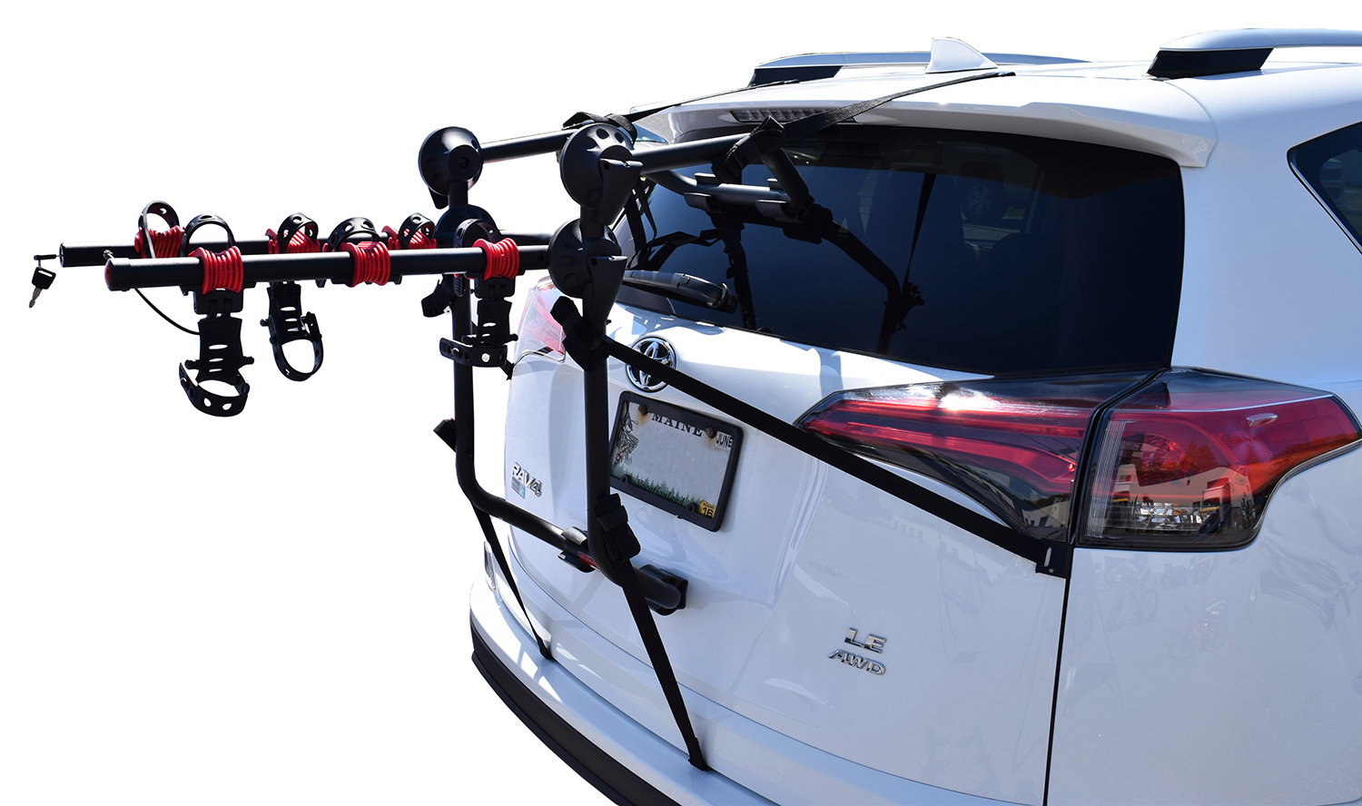 rear clipon big rack bike car cycling thule bikes id decathlon