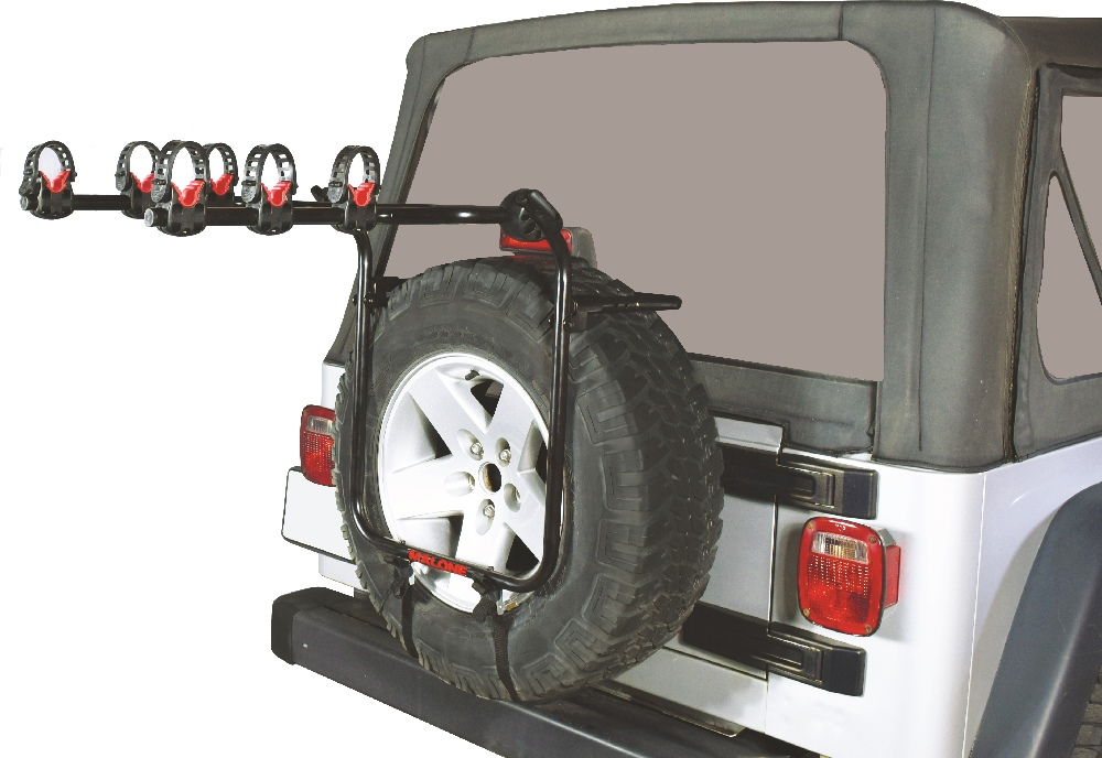 Runway Spare T3 Spare Tire Mount 3 Bike Carrier