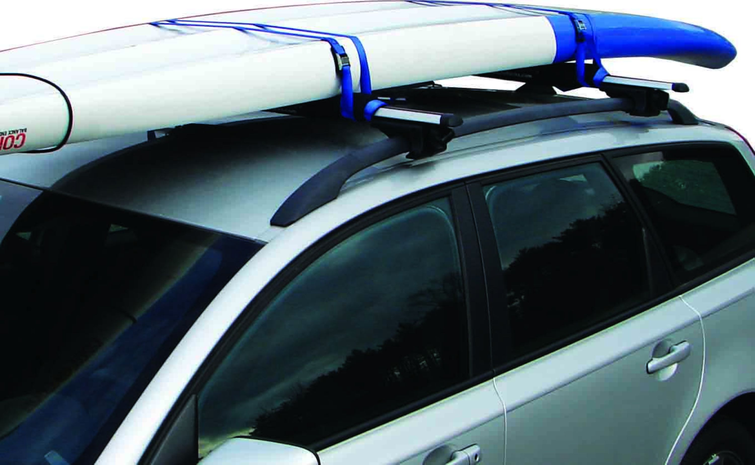 Paddle Board Car Racks >> Surfboard And Sup Rack Pad Kit W Tie Downs For Crossbars 30