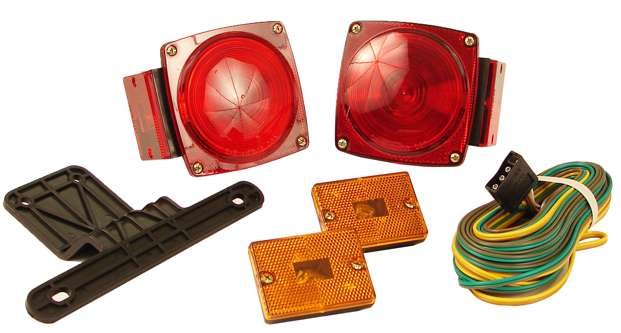 Stupendous Deluxe Trailer Light Kit With Wiring Harness Wiring Digital Resources Skatpmognl