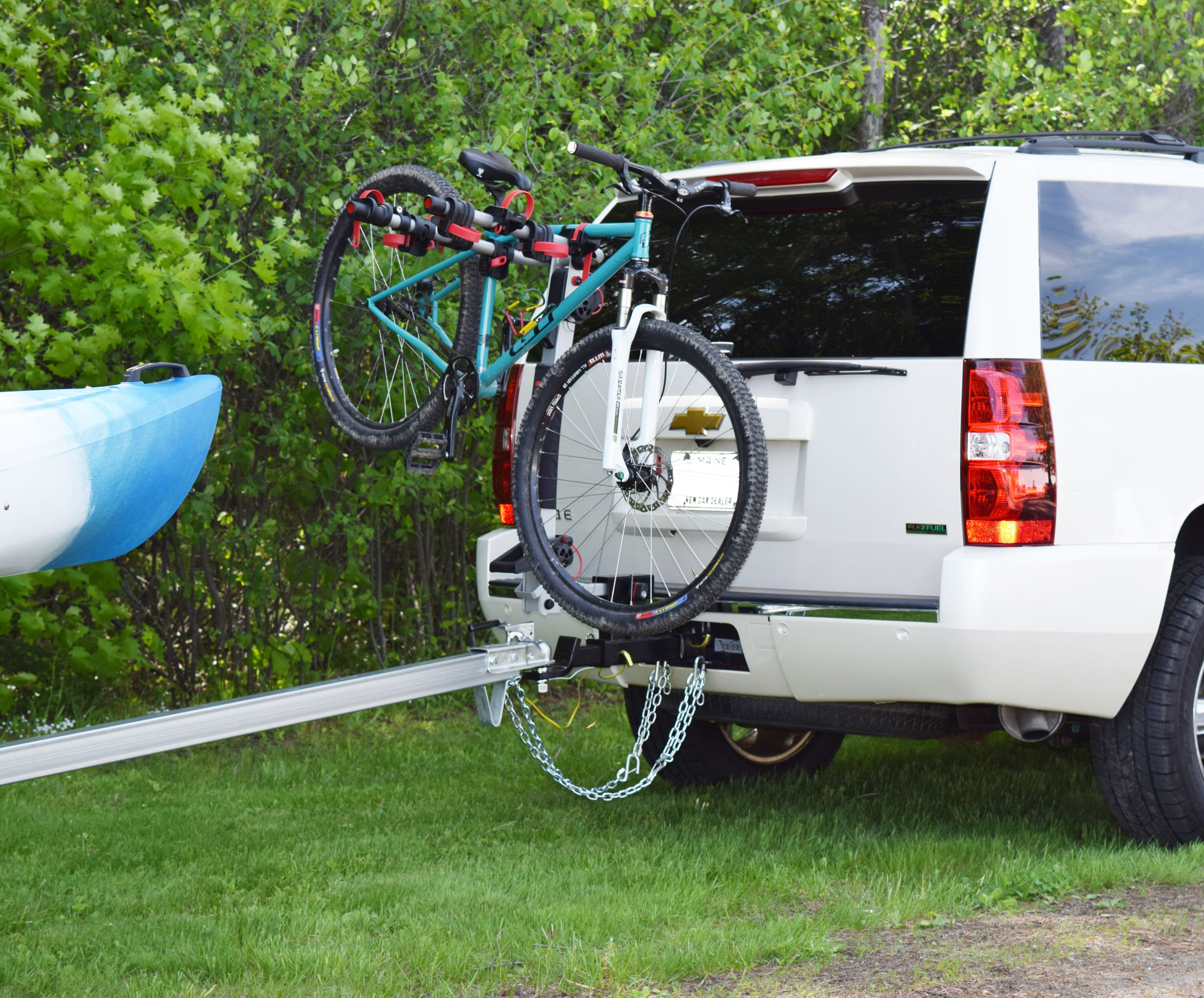 Receiver Hitch Bike Rack >> Double Your Towing Capacity With The Class Ii 2 Mpg544 Double