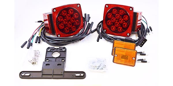 Led Trailer Light Kit With Wiring Harness