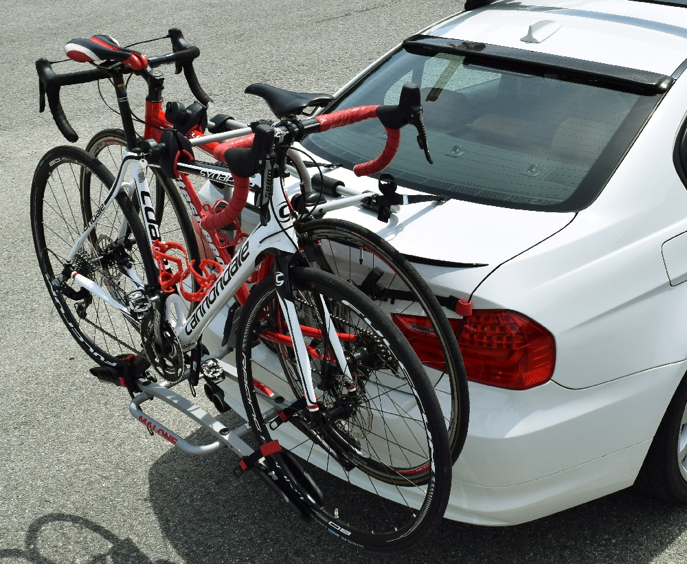 Pilot bc2 back of car platform 2 bike carrier for Is a bicycle considered a motor vehicle