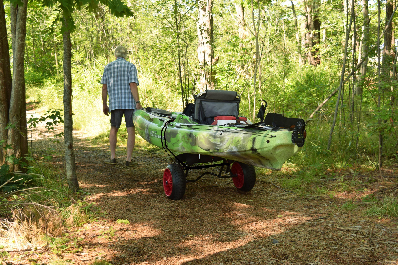 Yakhauler 250 All Terrain Heavy Duty Boat Cart W Bunks