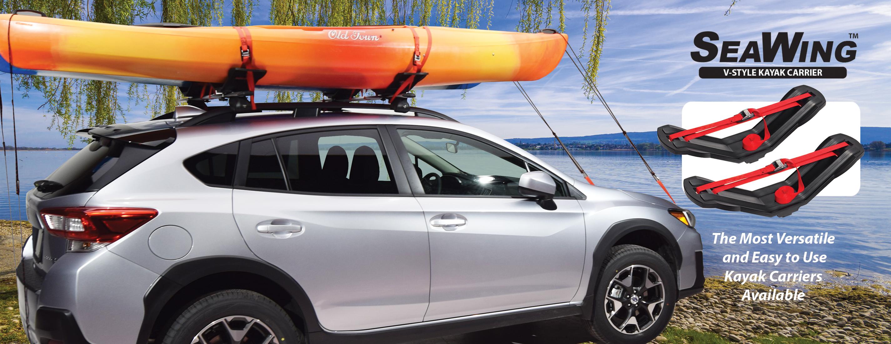 youtube car kayak revolution watch roof onto loading the rack hobie