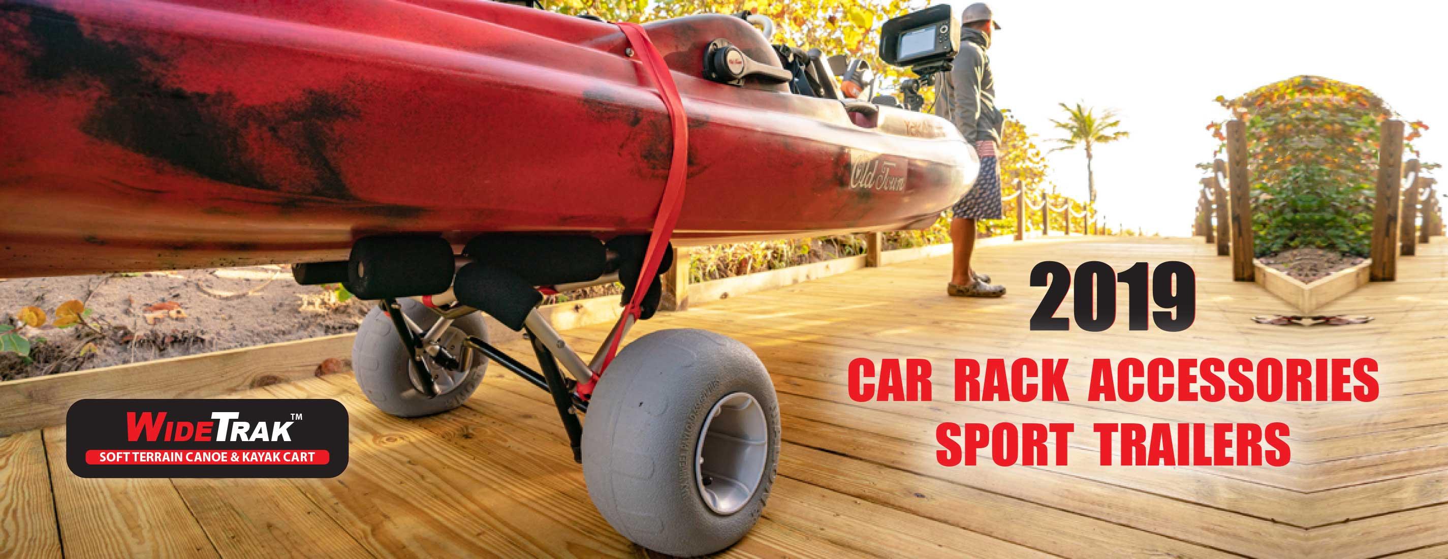 Kayak Trailer Paddle Storage